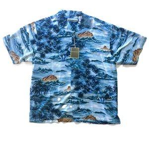 Presence Clothing Co. Men's Hawaiian Shirt Sz XL